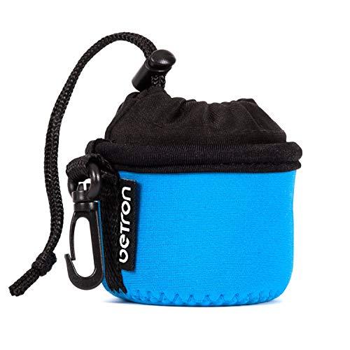 Betron Speaker Case, Carry Bag for Betron KBS08, X Mini Capsule, Kai, Anker Mini , Easyacc Mini, Betron BPS60 and Betron Pop Up Speakers (Blue)