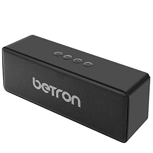 Betron D51 Wireless Speakers Compatible with Bluetooth Smartphones Mp3 Players Computers Laptops