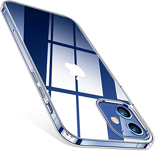 Betron Clear Silicone Case Back Cover for iPhone 12 Mini