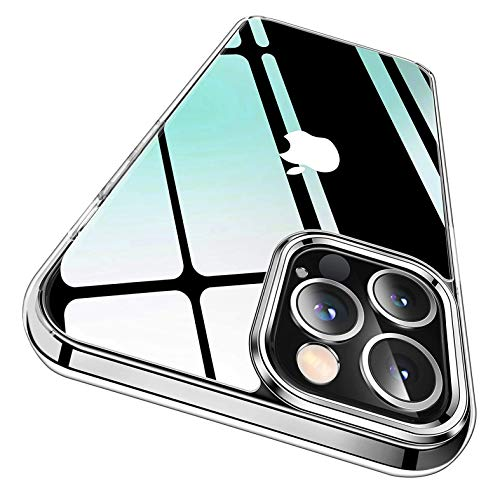 Betron Silicone Case Compatible with Apple iPhone 12 Pro Max, Clear