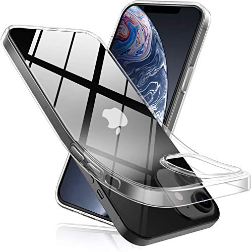 Betron Silicone Case Compatible with Apple iPhone 12 and 12 Pro, Clear